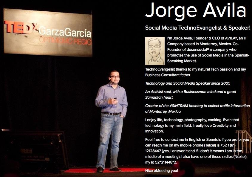 Social Media TecnoEvangelista Jorge Avila